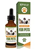 Natural Ear Cleaner for Dogs, Cats, Kitten, Puppy – Gentle Cleansing Ear Wash Solution Mite Infection & Yeast Treatment for Pets – Drying, Healing Medicinal Ear Cleaning Drops Made in USA