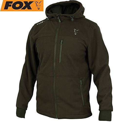 Fox Collection Green/Silver Windblocker - Angeljacke, Größe:XL