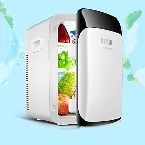De Doble núcleo 15L del Coche de refrigerador del hogar del Coche Dual Mini Nevera congelador doméstica pequeña Refrigeración Hostel