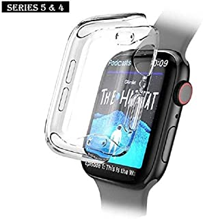 Fogtek Apple Watch Case 40mm Full Screen Protector Cover Case Soft Clear and Ultra Thin for Apple Watch Series 4 40 mm