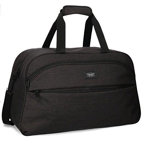 Movom Ottawa Travel bag Black 55x35x25 cms Polyester 48.13L