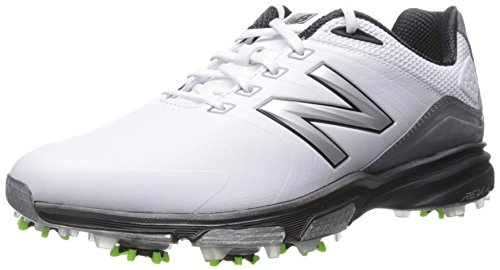 New Balance Men's nbg3001 Golf Shoe, White/Green, 11 D US