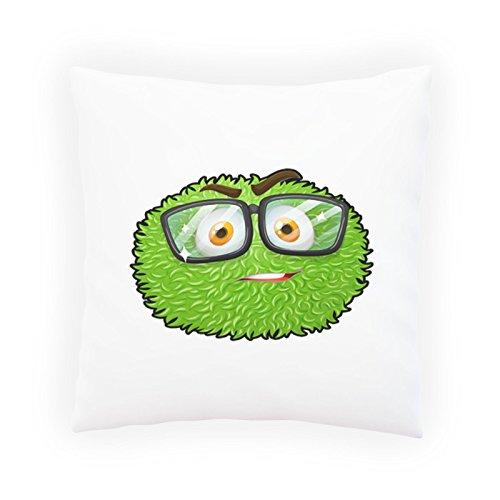 INNOGLEN Brille Smart Smile Lustig Dekoratives Kissen, Kissenbezug mit Einlage/Füllung oder ohne, 45x45cm u506p