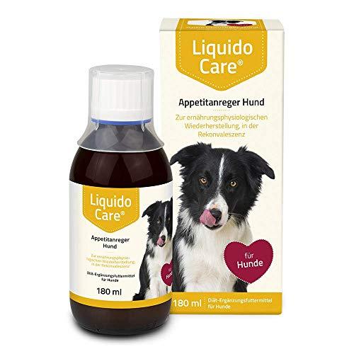 LiquidoCare  Appetitanreger Hund mit Flüssigkeit und liefert wichtige Nährstoffe in flüssiger Form, 180 g