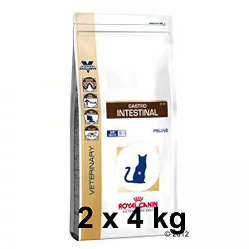 Royal Canin Veterinary Diet - Gastro Intestinal GI 32 - 2 x 4 kg Trockenfutter