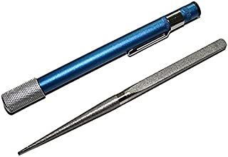 Diamond Sacapuntas de la muela PRECORN marca en forma de pluma estilográfica, bolígrafo diamante, afilador de cuchillos y otras herramientas