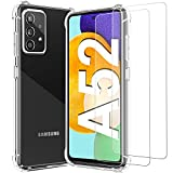 For Samsung A52 5G Case with 2 x Tempered Glass Screen