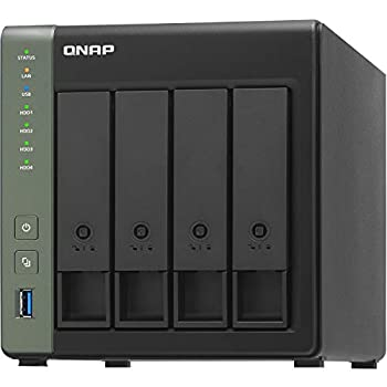 QNAP TS-431KX-2G 4 Bay High-Speed NAS with One 10GbE Port
