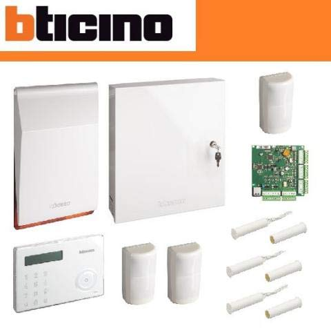 kit48zip kit Base de sistema con Central de 48zonas IP con sensores Pet immunity bticino