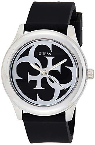 GUESS G-Twist Damen-Armbanduhr 40mm Armband Leder Schwarz Quarz Analog W0911L8