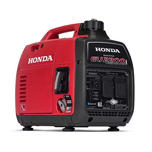 Honda EU2200iTAG1 2200-Watt 120-Volt Companion Super Quiet Portable Inverter Generator