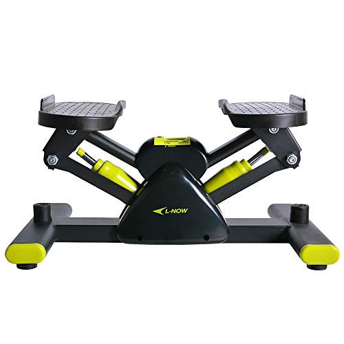 L NOW Adjustable Mini Stair Stepper Exercise Equipment Step Machine (S1)