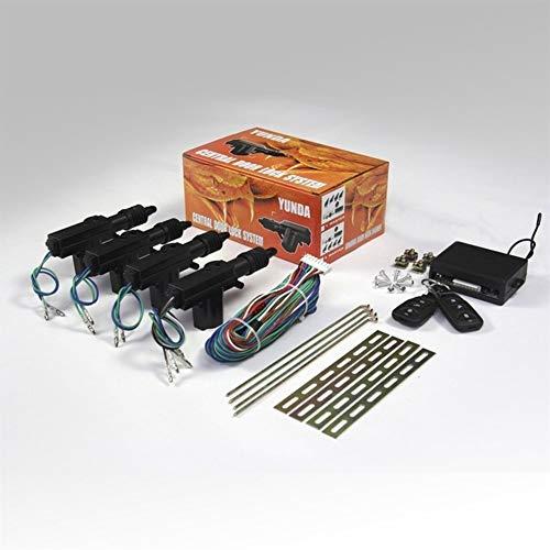 Universele auto deurvergrendeling Keyless Entry System Remote Central Control Locking Kit met Trunk Knop