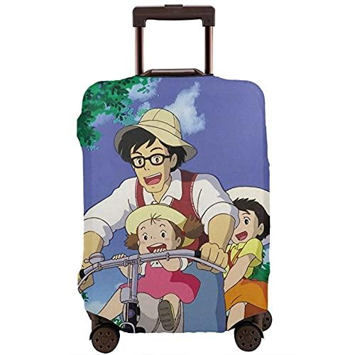 Studio Ghibli - Funda protectora antipolvo, lavable, para maleta para mujeres y hombres, para equipaje, 1 Studio Ghibli (Negro) - 55XLXT-333715159