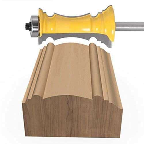 ZJN-JN Drill Bits 8 Millimetri Shank Pannello del cassetto Viso Telaio Bar Coltello Lama del Coltello da Cucina Porta a Porta di Legno Incisione Lama della taglierina Truciolo Strumenti Taglio Frese