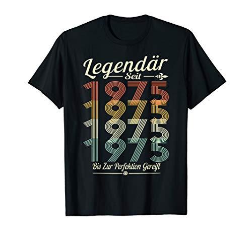 Jahrgang 1975 Geschenk zum 45. geburtstag- jahrgang 64 T-Shirt