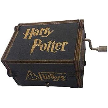 XueSenShangMaoBu Manivela Home Classic Harry Potter Caja de música de Madera Creativa Caja de música Talla de Madera Hecho a Mano Caja de música: Amazon.es: Hogar