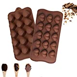 🍬 INTERESTING SHAPES - Mold your food into fun and playful shapes that are fun for children and the whole family. You can spend more funny baking time with your family and kids.It is perfect for valentine's day, marriage proposals, weddings, annivers...