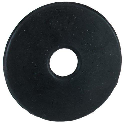 Kerbl Juego de 2 discos dentados para caballo (7 cm o 9 cm), color negro
