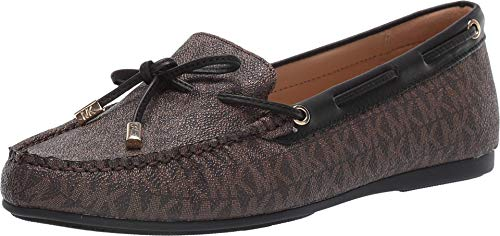 MICHAEL Michael Kors Sutton Moc Brown/Black 9.5