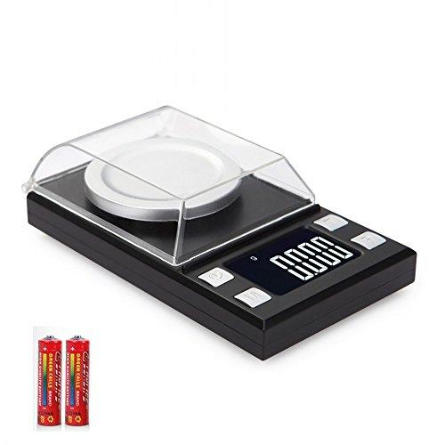 SIMERST 改良版 携帯タイプはかり ポケットデジタルスケール(秤) 0.001g-100g精密 業務用(プロ用) デジタルスケール 電子天秤