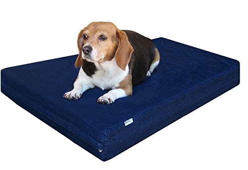 2. DogBed4Less Memory Foam Bed
