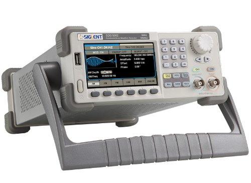 SIGLENT 任意波形ファンクションジェネレータ 信号発生器 80Mhz 500MS/s 2CH SDG5082