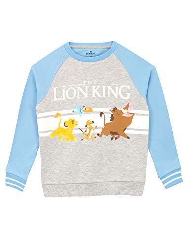 Disney Jungen Lion King Sweatshirt Mehrfarbig 110