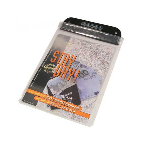 Ortlieb Dokumentenbeutel Document Bag Kartentaschen, Doku&Schutzbeutel, transparent, Format A6, 15 x 11 cm, One Size