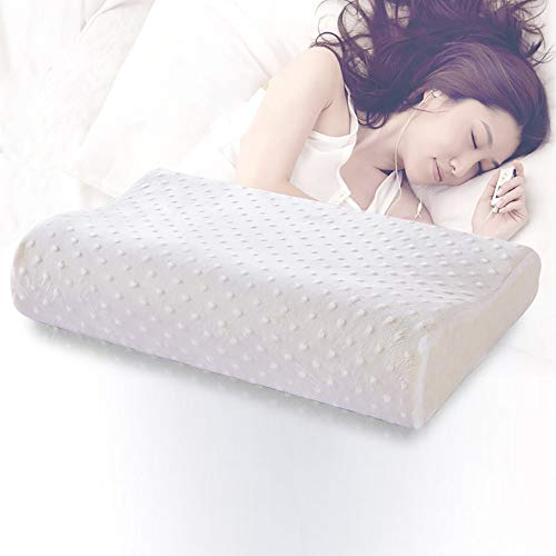 YLXD Power of Nature Memory Foam Pillows, Ergonomic Deep Sleep Contour Cervical Bed Pillow, Best Support Neck Pillows Anti Snore and Orthopaedic