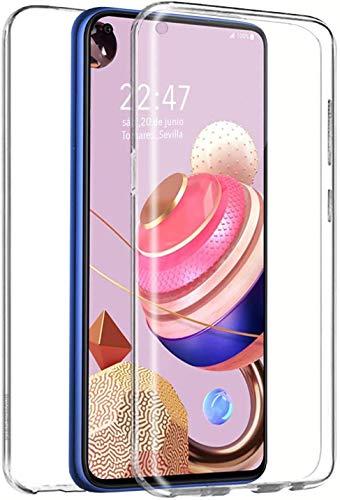 XCYYOO Funda para Xiaomi Redmi Note 10 Pro 4G Silicona,[Carcasa Protectora 360 Grados Full Body] Transparente Suave Ultrafina Gel Silicona TPU+PC Anti-Choque Anti-Arañazos Protectora Case