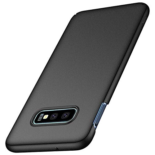 Anccer Cover Samsung Galaxy S10e, [Alta Qualità] [Ultra Slim] Anti-Scratch Hard PC Case Custodia per Samsung Galaxy S10e (Ghiaia Nera)