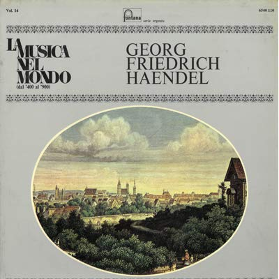 Musica per i fuochi artificiali (Vinyl LP) Musica per i fuochi d'artificio HWV 351 (1749) Musica sull'acqua HWV 348 350 (1715)