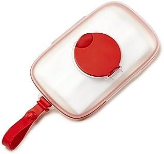 Skip Hop Grab and Go Snug Seal Wipes Case (Red)