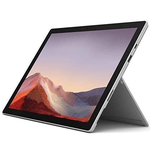 Microsoft Surface Pro 7 Tablet 12 Zoll Intel Core i5 256GB SSD Festplatte 8GB Speicher Windows 10 Pro Webcam Platin PVR-00003 Notebook - Vorführware wie Neu (Zertifiziert und Generalüberholt)