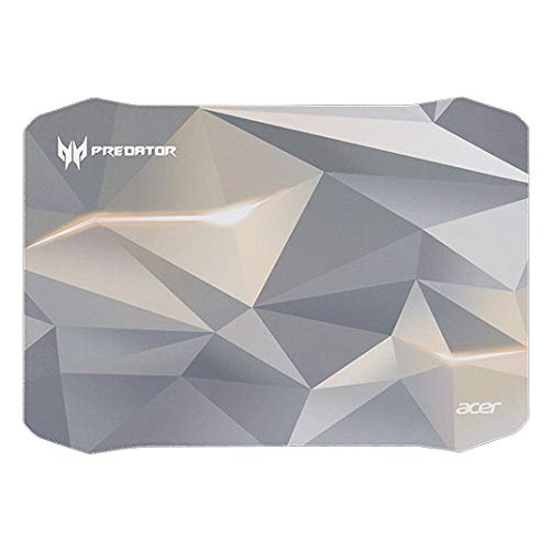 Acer PMP713 Assorted Colours, White - Mouse Mat (Assorted Colours, White, Pattern, Fabric, Rubber, Gaming Mouse Pad)