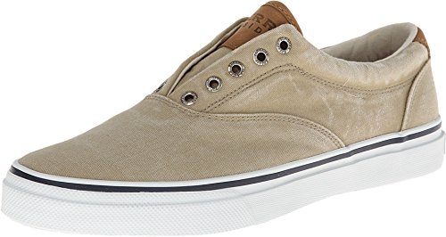 Sperry Mens Striper LL CVO Sneaker, Chino, 10.5