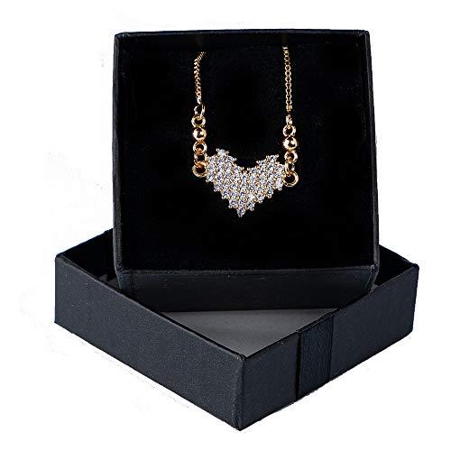 Golden Heart shape Necklace for women