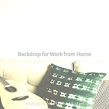 Backdrop for Work from Home