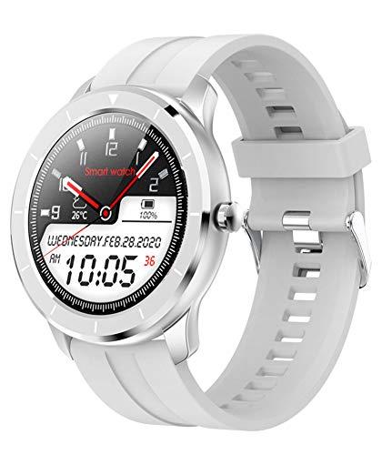 YGMDSL Reloj Deportivo Inteligente Reloj De Pulsera Inteligente con Pantalla Táctil Completa Smartwatch IP68 A Prueba De Agua Pulsera Actividad (Gray)