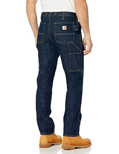 Carhartt Men's Rugged Flex Relaxed Fit Heavyweight Double-Front Utility Logger Jean