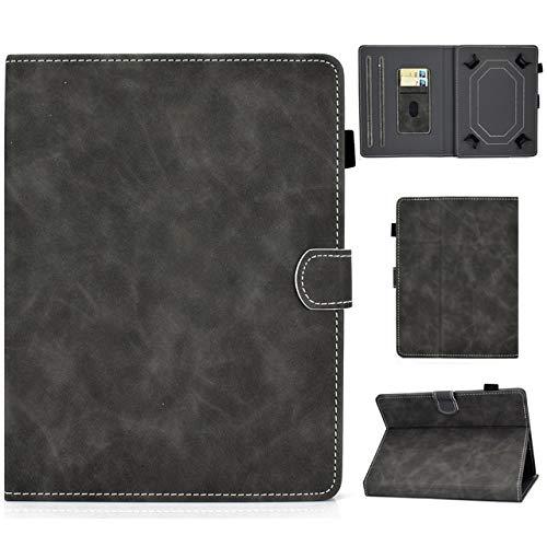 RZL Pad y Tab Fundas para Huawei MediaPad T1 T2 T3 T5 M1 M2 M3 M5 M6 Lite 10.1 10.8, la Caja Universal de la Cubierta de la Tableta para VOYO Q101 4G / i8 10.1inch 10.1' (Color : Gris)
