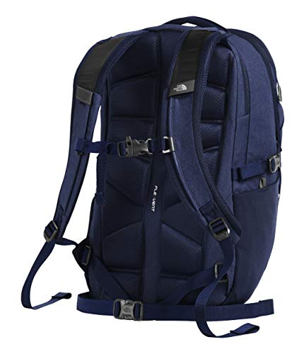 The North Face Borealis Men's Backpack, Montague Blue Light Heather/High Rise Grey
