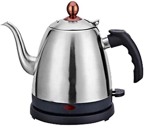 ZHANGYY Schwanenhals Wasserkocher, Home Quiet Boil Wasserkocher 1,2 l Edelstahlkessel Wasserkocher Große Kapazität Tee Temperaturregelung Elektrokrug Wasserkocher Silikongriff