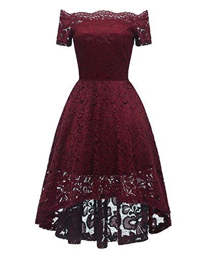 Low Back Lace Off the Shoulder Wedding Dress