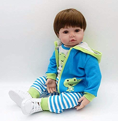 bajo precio del 40% XL68chao 19 '' Vinilo de Silicona Hecho Hecho Hecho a Mano Adorable Niño pequeño Bebe bonecas niña muñeca Bebe Niño Juguetes Infantiles para Niños  para mayoristas