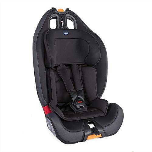Chicco Gro-Up Seggiolino Auto 9-36 kg, Gruppo 1/2/3 per Bambini dai 9 Mesi ai 12 Anni, Jet Black