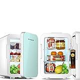 Refrigerador pequeño,Minirefrigerador,Mini refrigerador montado en un vehículo Dormitorio pequeño para Estudiantes Dormitorio de Alquiler Coche Casa Refrigerador de insulina de Doble Uso Caja Re