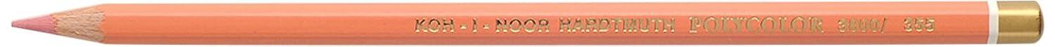 Koh-I-Noor Artist's Coloured Pencil 3800 Peach Orange Light, Wood 14 x 3 x 1 cm