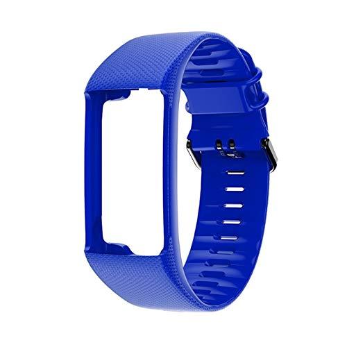 GYY Muñeca De Reemplazo Original Soft Silicone Wamkband Smart Sport Reloj Correa para Polar A360 A370 (Color : D)